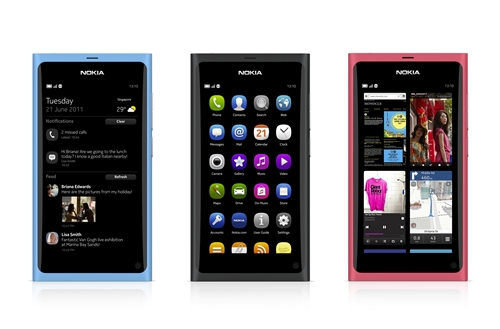 The Nokia N9 will be available in three stunning colors - cyan, black and magenta - to suit the lifestyles of the bold and trendy.