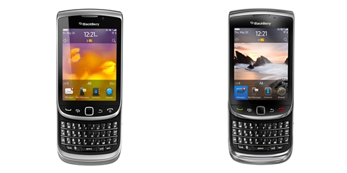Do not be misled by the physical appearance of the BlackBerry Torch 9810 (left). It may look the same as its predecessor, the Torch 9800 (right), but it's a totally different machine under the surface.