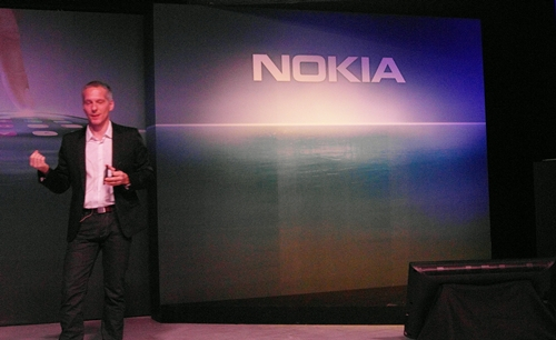 Vlasta Berka, General Manager for Nokia Singapore, Malaysia and Brunei, was present at the event to launch the highly anticipated Nokia N9.