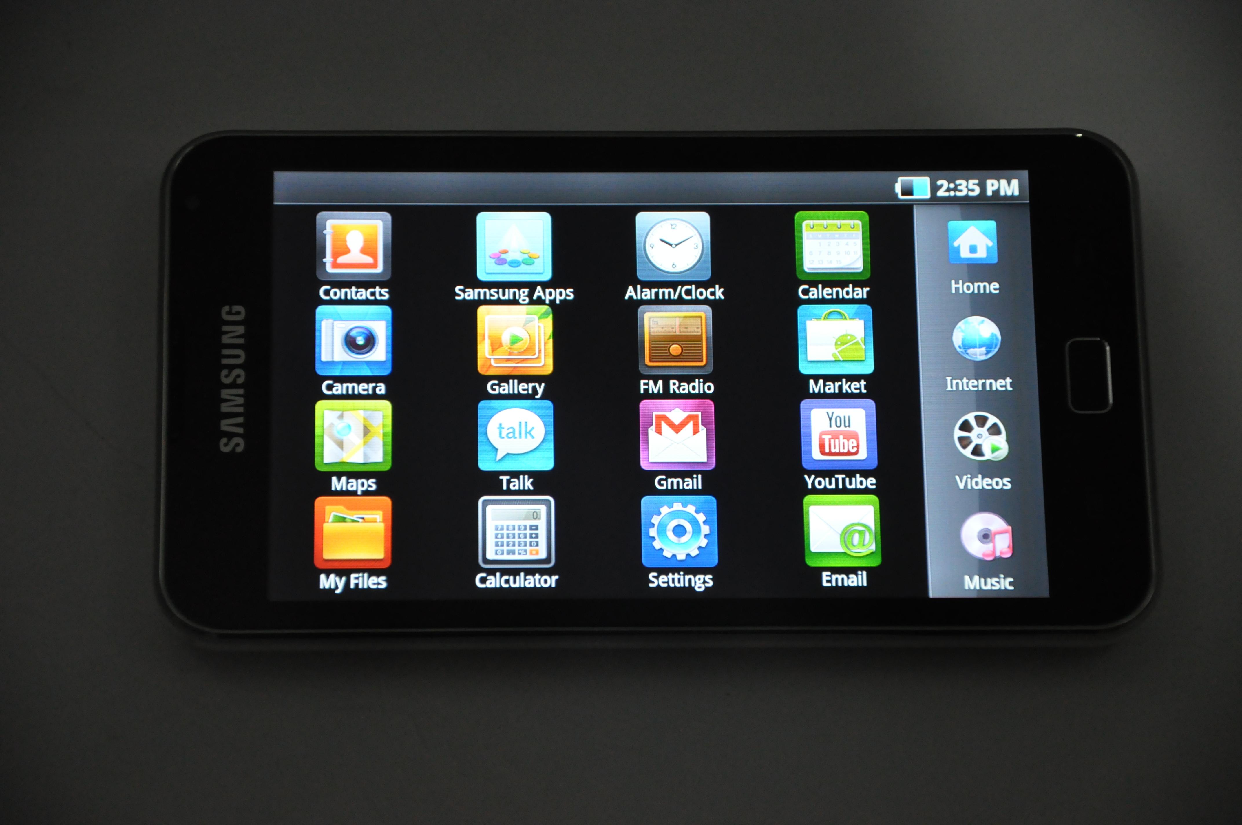 Samsung galaxy s wifi 4 2