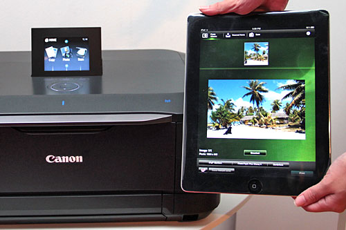 Do you know you can also print and scan from your iOS device on a compatible Pixma printer using the Canon Easy-PhotoPrint (iEPP) app? Get it from the App Store for free.