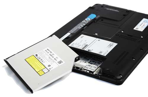 Removing the optical drive sheds almost 100 grams off the weight of the Lifebook SH771, making it as light or lighter than some Ultrabooks.