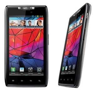 The thinnest smartphone of its class, the Motorola Razr is available at $48 with ExtremeSurf Plan or free with SunMax Plan on Take 3.