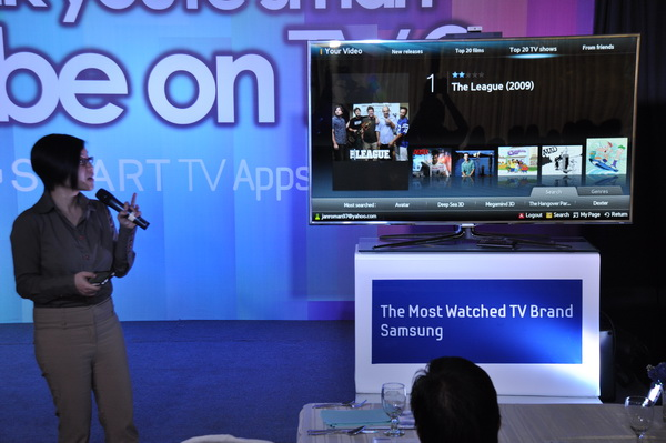 how to add apps to samsung smart tv 2011
