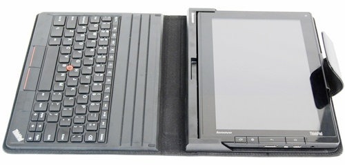 The keyboard folio case (650g) needs to go on a diet as it weighs almost as heavy as the tablet itself (730.5g). When you take into account the tablet in the case, you are looking at a combined weight of about 1.4KG. In addition, folding the keyboard to the back of the tablet is not recommended. As such, you are unable to use the tablet on its own when it is in the case.