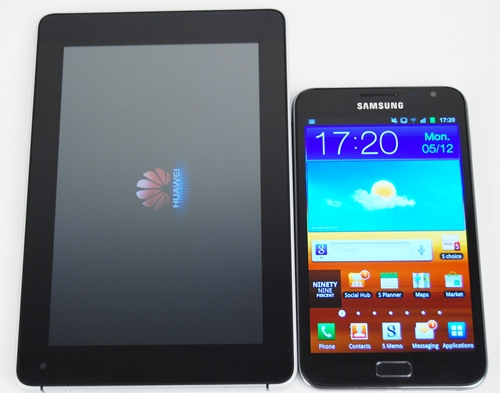 Is the Samsung Galaxy Note a phone or a tablet wannabe? You decide.