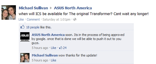 Source: ASUS North American Facebook Page