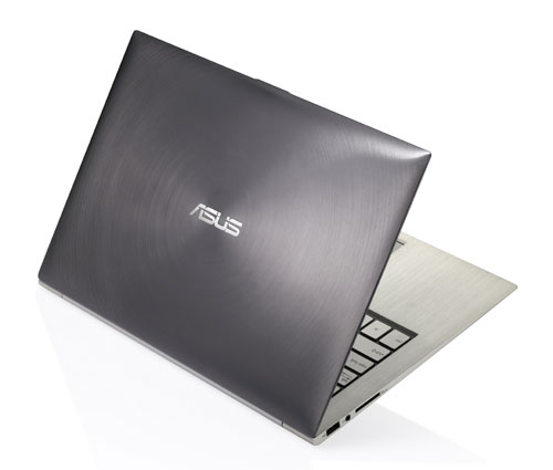 "The Asus Zenbook UX31 has a unique ""spun"" aluminum look that we've not seen elsewhere in the market."