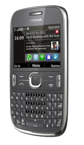 Nokia Asha 302 <br> Image source: Nokia