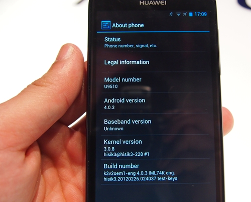 Not to be left out of the compeition, the Huawei Ascend D Quad and D Quad XL run on Google Android 4.0 out of the box. During our hands-on with the Ascend D Quad, we experienced no lag. The interface transitions were smooth  and fluid.
