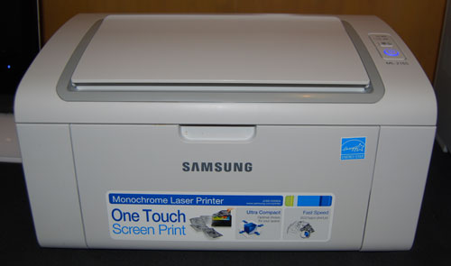Samsung ML-2165/W personal laser printer.