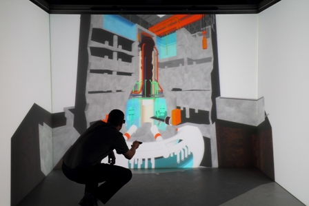 Virtual reality gives users an artificially-generated environment to work with, whereas AR simply adds a little 'color' to our existing reality. (image: www.world-nuclear-news.org)