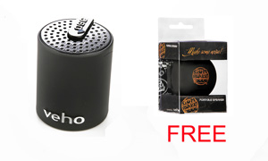 360 Portable Bluetooth Speaker