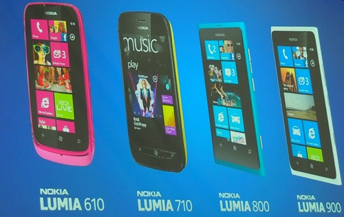 The Lumia 610 is the latest but most affordable handset out of the four in Nokia's Windows Phone portfolio.