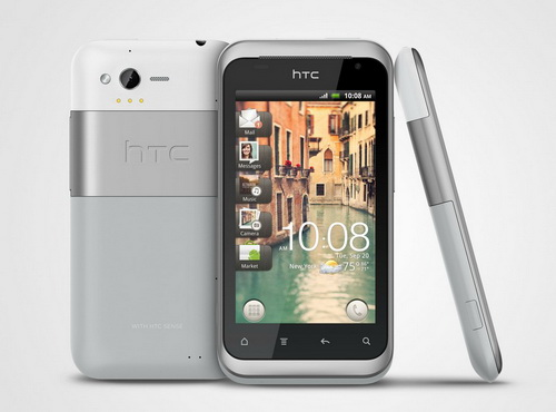Though only possessing a 1GHz processor, the HTC Rhyme is fortunate enough to have been included in the ICS update.