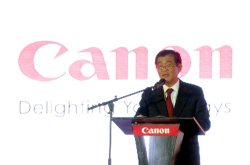 """Speaking at the event, Alan Chng, President and CEO of Canon Marketing Philippines said, """"We, at Canon Philippines, are proud of how we have grown. While we have greatly benefitted from our strong global brand heritage, our accomplishments in the past 15 years have also demonstrated the unique strengths and the commitment of the local office. Moving forward, we look forward to more delightful years ahead, sharing the best of digital technology to Filipinos."""""""