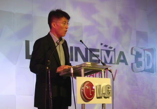 Mr. Sung Woo Nam, the new Managing Director of LG Philippines.