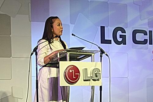 Ms. Arlene Amarante, Yahoo!'s Country Ambassador for the Philippines.