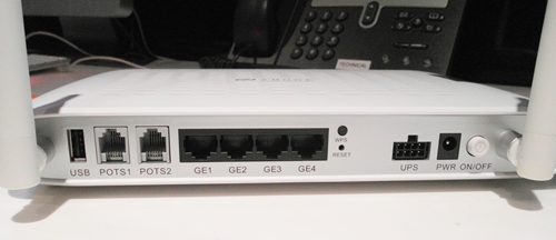 As the service is plug-and-play, users do not need to install any software; it is delivered via the second port on the Zhone 2426 Optical Network Unit (ONU) if you want a wired connection, or through a second wireless SSID.