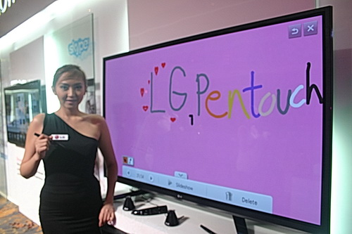 lg tv 60. the lg pentouch pm6900 is a plasma tv that comes with magicpen which enables users to lg tv 60