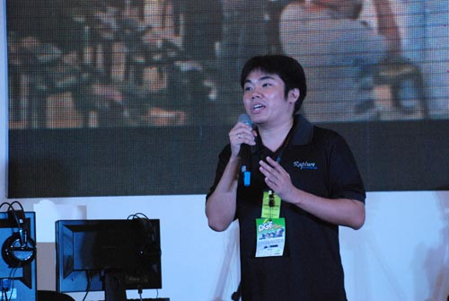 """""""Our goal is not only to make this bigger, but also trying to work with different gaming publishers in the country, and make a universal goal of establishing the Philippines, as another destination for gaming events,"""" said Joebert Yu, Managing Director for Rapture PH."""