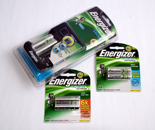 energizer recharge universal charger instructions