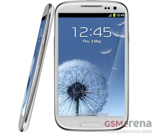 A mock-up of the Samsung Galaxy Note 2. <br>Image source: GSMArena