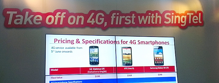 Early adopters of 4G have three Android phones to choose from: the LG Optimus LTE, HTC One XL and Samsung Galaxy S II LTE.