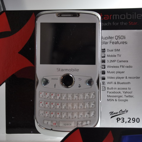 Starmobile Jupiter Q501i