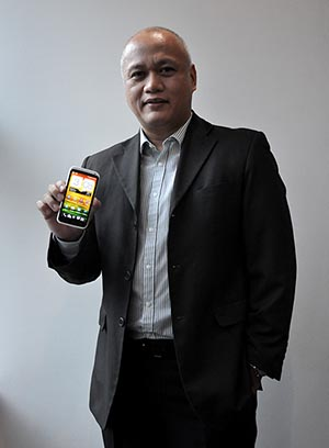 Richard Javier is full of hope for the lasting success of the HTC brand here in the Philippines.