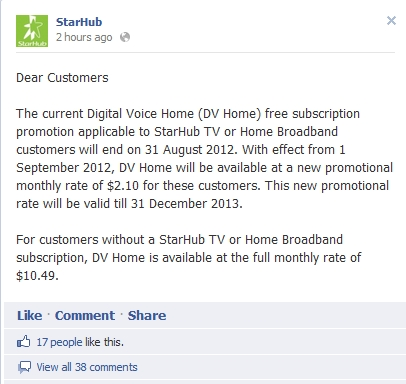 Image source: StarHub Facebook Page