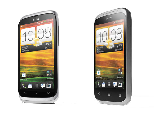 Offering great bang for the buck, the new HTC Desire C and Desire V deliver the Android 4.0 Ice Cream Sandwich experience enhanced with HTC Sense 4 at wallet-friendly prices of PhP 10,990 and PhP 16,990, respectively. In addition, the HTC Desire V supports dual-SIM functionality.
