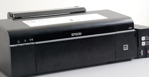Epson Inkjet Photo L800 - Flagship Ink Tank Photo Printer