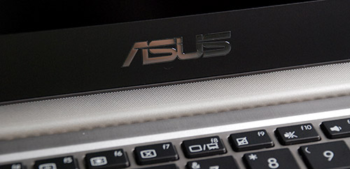 The speaker grill is located at the top of the keyboard and is attached to the hinge. This adds to the design uniqueness of the Prime.