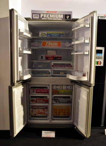 Sharp SJ-FS79V French Door Refrigerator