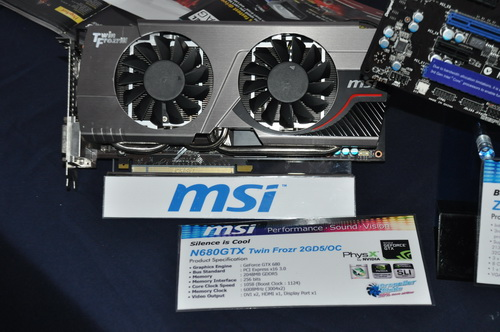 MSI N680GTX Twin Frozr 2GD5/OC