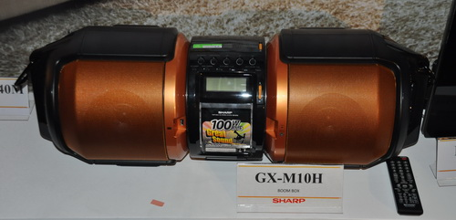 Sharp GX-M10H Boom Box