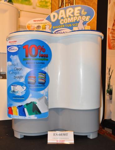 Sharp ES-6030T Twin Tub Washing Machine