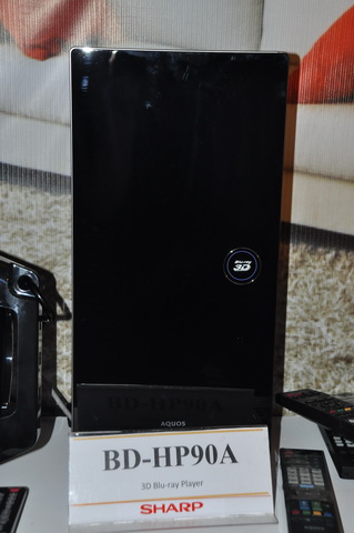 Sharp BD-HP90A 3D Blu-ray player (SRP: PhP 29,498)
