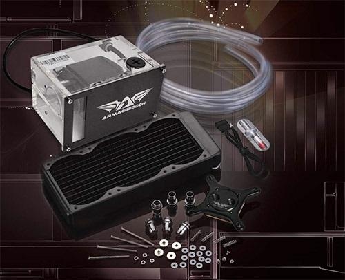 Armaggeddon GF800 ZII FINFREEZE DIY Liquid Cooling System