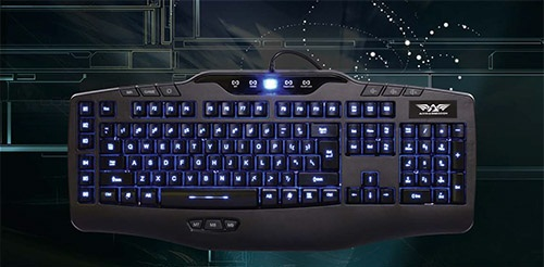 Armaggeddon NIGHT HAWK KAI-13 Keyboard