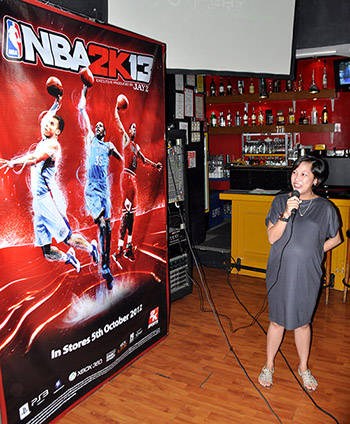 """NBA 2K13 is a great addition to the X-Play packaged goods portfolio,"" said Heidi Garablas, Chief Operating Officer for X-Play. ""We are very proud to work with 2K Sports on this project, and we are looking forward to bringing more blockbuster games to the Philippines."""