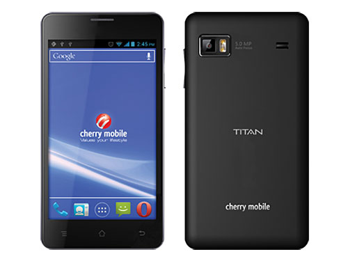 "The Cherry Mobile Titan was engineered to allow everyone to ""see the bigger picture"" with its 5-inch display and top specs."
