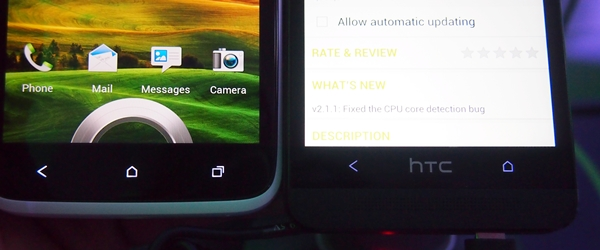 We don't know how HTC users will respond the change in the button layout on the One.