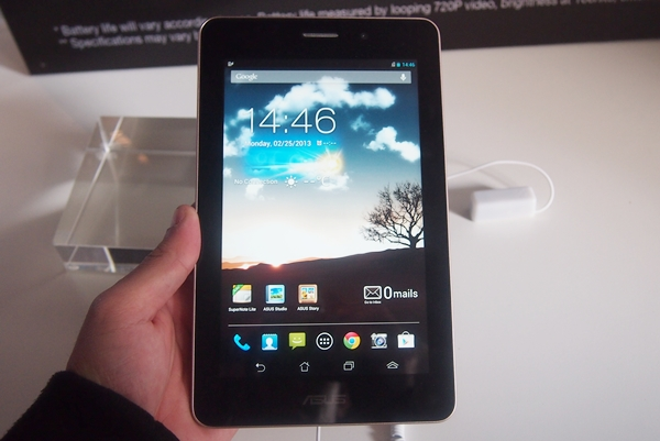 The ASUS Fonepad.