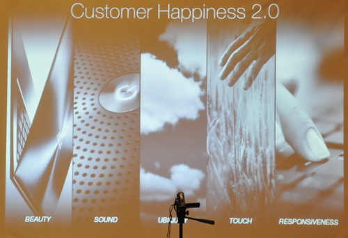 ASUS is bringing customer satisfaction to a new level with the Customer Happiness 2.0 campaign wherein aesthetics, sound quality, ubiquity, touch, and responsiveness are given emphasis.