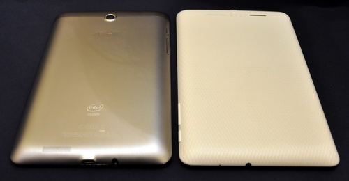 Beauty can be seen on ASUS tablets such as the newly-launched FonePad and the value-for-money MemoPad. The FonePad features a metallic shell, whereas the MemoPad has a diamond-patterned exterior.