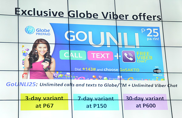 Globe Prepaid subscribers can choose from different variants (3 days, 7 days, or 30 days) of this new GoUNLI offer.