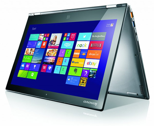 The successor to the original 13.3-inch Yoga, the Yoga 2 Pro.