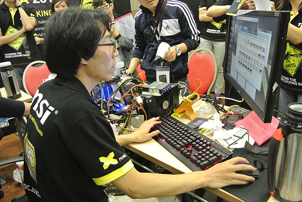 oc_windforce broke the world record for Intel XTU (Ivy Bridge-E) using his own Intel Core i7-4960X, G.Skill memory, and MSI Bigbang XpowerII.